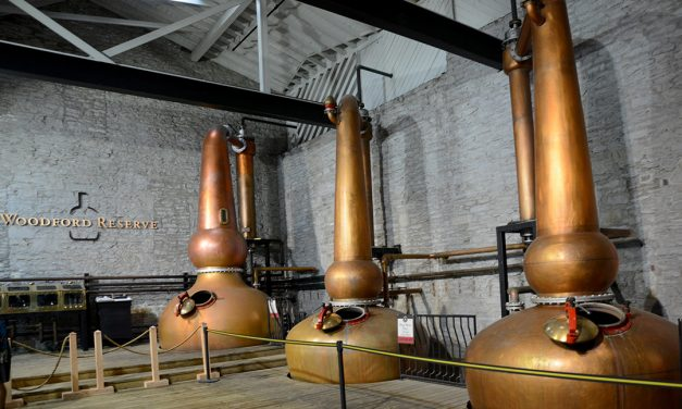 Woodford Reserve Bourbon Distillery in Kentucky