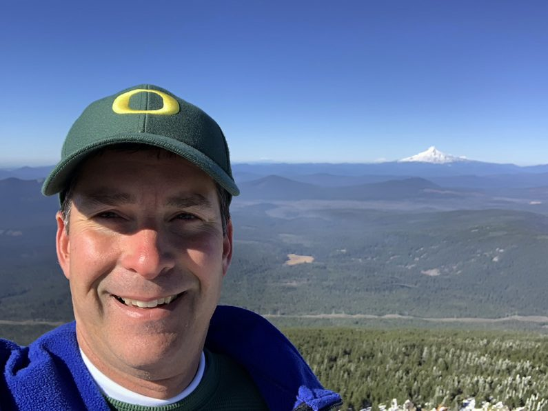the summit of Olallie Butte
